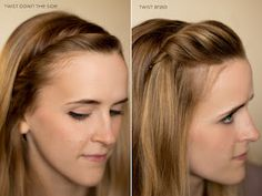 15 ways to pin your hair back