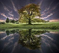 clouds, color, landscape, nature, photography, reflection