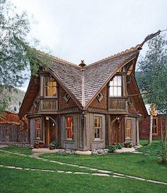 Un diseño de casa inspirada en Tim Burton...