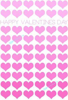 #Valentine's Day #pink #hearts #graphic ToniK ⓦⓡⓐⓟ ⓘⓣ ⓤⓟ forchicsake.com