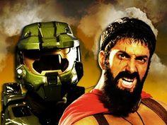 Master Chief vs Leonidas. Epic Rap Battles of History Season 2.