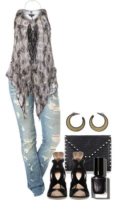 """""""Summer Nights - Plus Size"""" by alexawebb ❤ liked on Polyvore I love this... but would not look good in it :/"""
