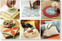 Learn How to Felt and Decorate Recycled Wool