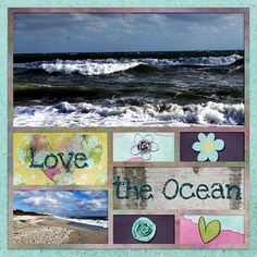 Made with Janet Scott's Earth Day Bundle and Aprilisa Designs Picture Perfect 67 template pack www.janetscottdesign.com http://store.gingerscraps.net/Picture-Perfec...
