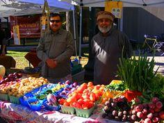 Oakville's organic market.