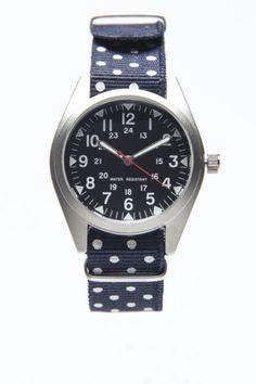 Preppy Polka Dot Watch