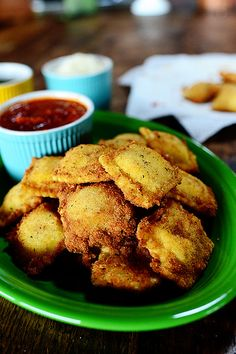 Toasted Ravioli from @Reena Dasani Drummond | The Pioneer Woman