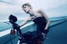 "Camilla Akrans shoots ""True Blue"" for Numéro September 2012  Follow Camilla's latest work onFacebookandTwitter"