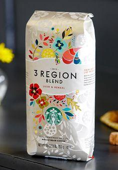 Love this Packaging Label | Starbucks