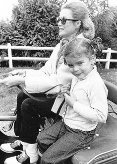 Princess Grace and Princess Stephanie