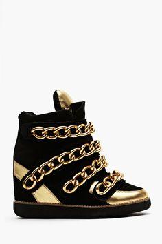 Almost Wedge Sneaker