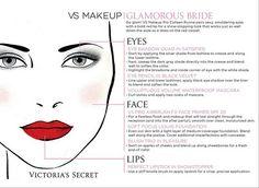 Victoria's Secret Bridal Makeup  Glamorous Bride