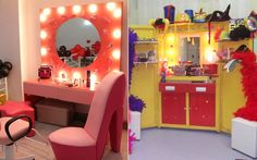 Have a mini-spa or makeup area at your Quinceanera for the ladies!
