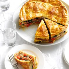 Italian Brunch Torte-We always serve this impressive layered breakfast bake with a salad of mixed greens and tomato wedges. It is one of our most requested dishes and can be served warm or cold. —Danny Diamond, Farmington Hills, Michigan
