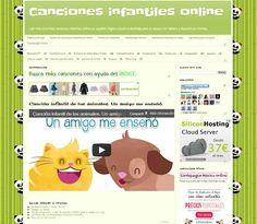 Canciones infantiles online: ÍNDICE CANCIONES INFANTILES