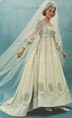 1972 Wedding Dress | Flickr - Photo Sharing!