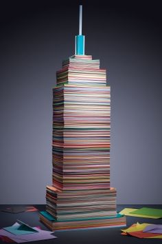 New York Magazine features Paper Source paper in an artistic interpretation of the Empire State Building