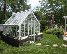 small English greenhouses / glasshouses - Victorian greenhouses / glasshouses