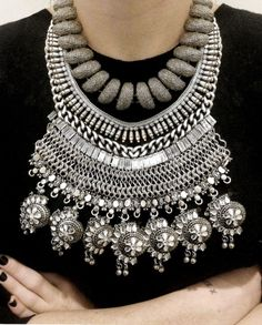 DIY stacked necklace