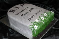 Tombstone Cake over the hill