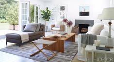 A Cool and Airy Living Room