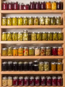 If you want to really succeed in home canning, especially for storage purposes, you should know how to store and organize the canned foods properly.