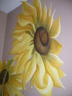 Sunflower Bathroom on Pinterest