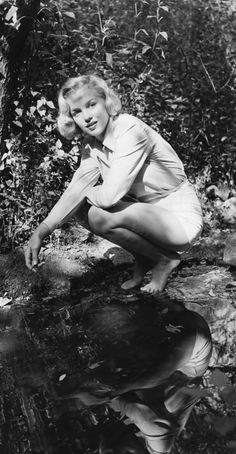 Marilyn Monroe, 24, in Griffith Park, Los Angeles, 1950 by Ed Clark
