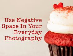 Photography tip - how to use negative space