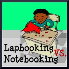 Lapbooking vs. notebooking