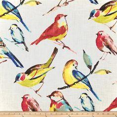 Richloom Birdwatcher Summer Item Number: 0284401 Our Price: $17.98 per YD