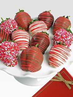 Valentine's Day Chocolate Covered Strawberries