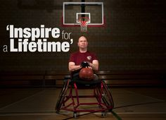 This wounded warrior is inspiring Marines, does he inspire you?
