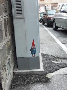 Gnome graffiti