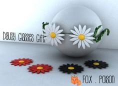 -Fox.Poison - Daisy Glasses - opening GIFT | Flickr - Photo Sharing!