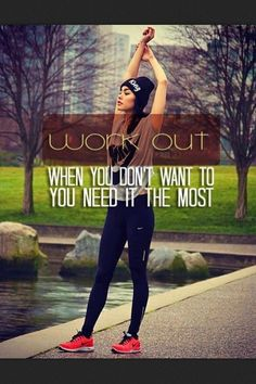 When you don't feel well, take it slow, do some yoga and more strength than cardio, but definitely don't just give up!