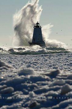 Ludington, Michigan -spent many summers visiting my grandparents snow birding in Ludington. It's beautiful
