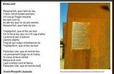 Joana Raspall, un poema preciós llegit a la Clausura de les Jornades ILE de la Fundació Bofill.