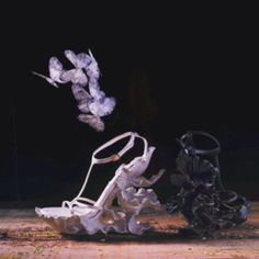 Alexander McQueen- 2011 spring collection. these shoes are adorable but i dont like completley open toe shoes