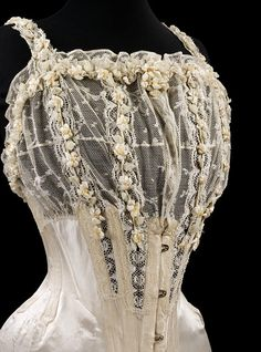 Wedding corset  1905
