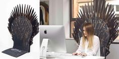 Turn your chair into the Iron Throne