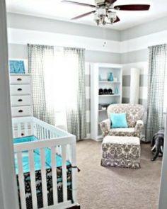 nursery blue gray