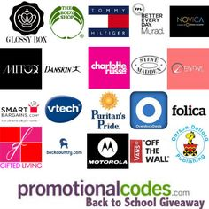 Promotional Codes Back to School Giveaway #BTSGiveawayPCS