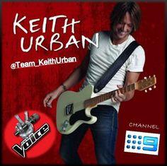 The Voice Australia - Keith Urban