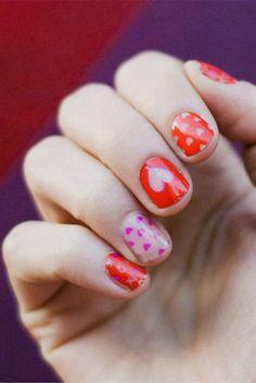 Non-lame Valentine's Day nail art ideas!