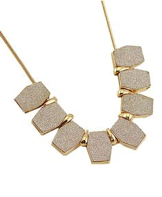 Geometric Pendent Necklace