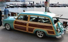 1951 Ford woody