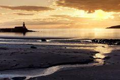 Port Logan Sunset by Derek Beattie
