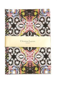 Paseo Multico Christian Lacroix Notebook  - Shop French Inspired Homewares Online