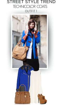 jacket, fashion weeks, paris fashion, color combos, bag, cobalt blue, outfit, street styles, coat
